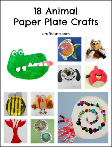 18 Animal Paper Plate Crafts Craftulate