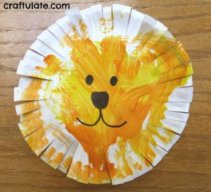 Paper Plate Lion ... & 18 Animal Paper Plate Crafts - Craftulate