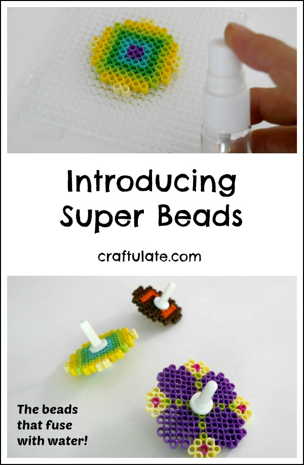 Introducing Super Beads - no mess, no glue, no iron!