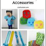 Minecraft Party Accessories