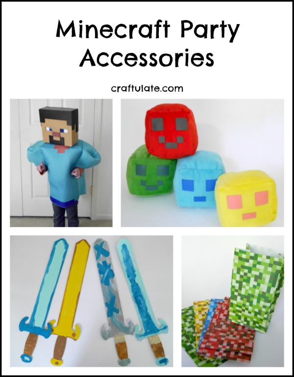 Minecraft Party Accessories - find all your party needs at Oriental Trading!