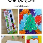Resist Art with Kwik Stix