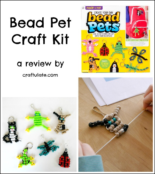 Bead Pet Craft Kit - a review by Craftulate.com