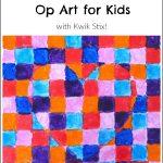 Valentine's Heart Op Art for Kids
