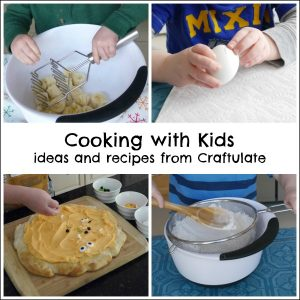 Cooking with Kids - ideas and recipes from Craftulate