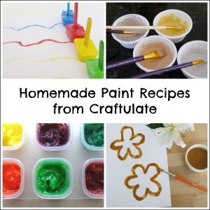 Play Recipes from Craftulate - Homemade Paint