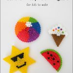 Summer Melty Bead Magnets