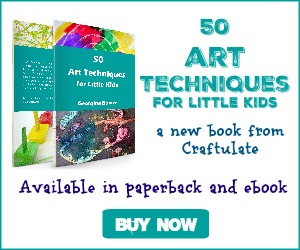 50 Art Techniques for Little Kids